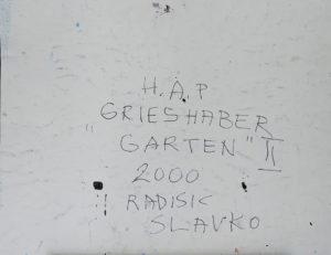 slavko-radisic-hap-grieshaber-garten-II-nr69-rueckseite